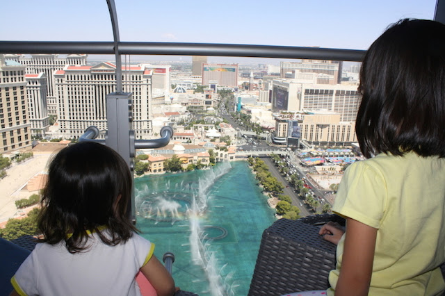 Cosmopolitan Hotel Las Vegas view of Bellagio Fountain from Balcony