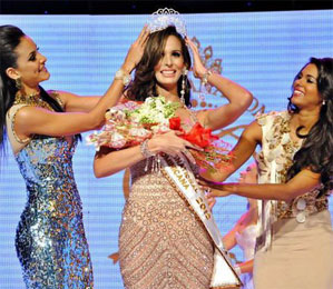 Miss World Dominican Republic Sally Aponte