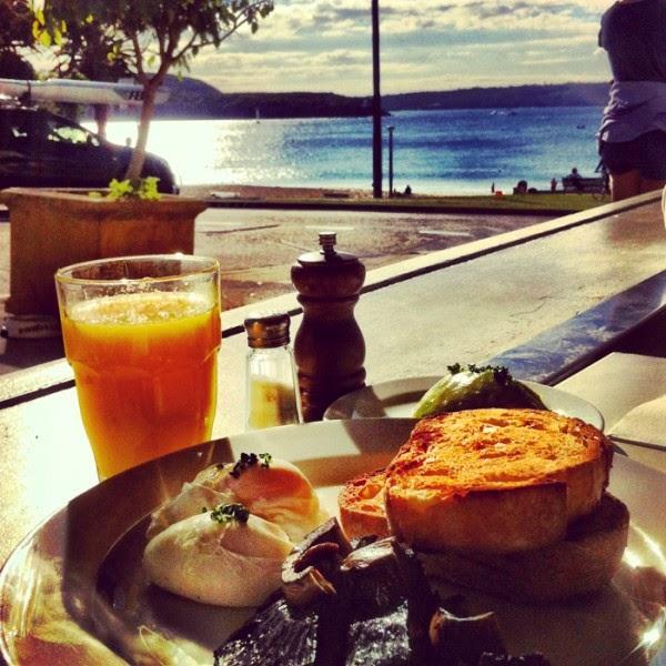 desayuno bajo el sol