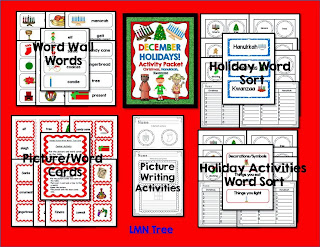 http://www.teacherspayteachers.com/Product/December-Holidays-ELA-CCSS-Activities-Packet-1-2-447211