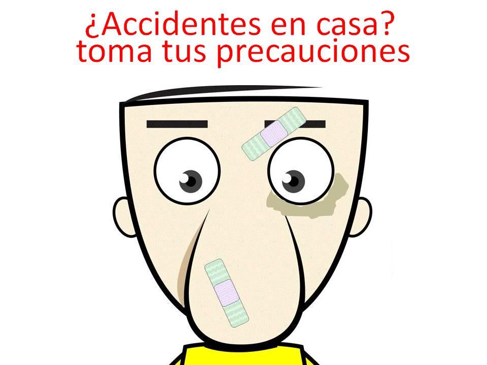 Cuales son los accidentes mas comunes en el hogar y como actuar en