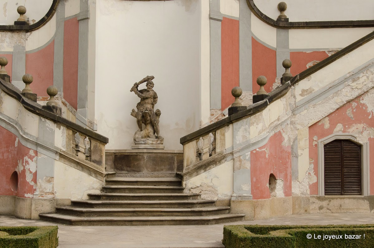 Prague - Mala Strana - jardins sous le château