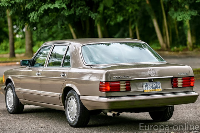 mercedes w126 turbodiesel