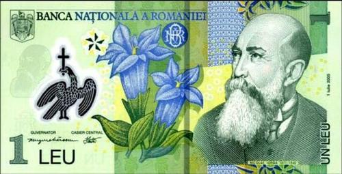 bancnota 1 leu