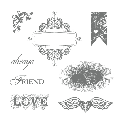 Stampin' Up! Affection Collection Stamp Set