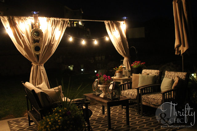 Great tips on ideas for entertaining outdoors