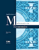 Applications of Mathematics in Economics