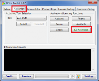 microsoft 2010 toolkit and ez activator