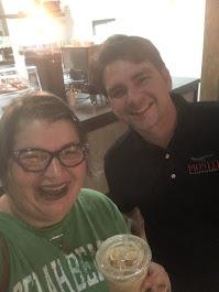 2019, Pioneer Coffeehouse, Iced Chai Latte, Dalton, OH