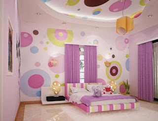 children bedroom teen woman furniture design interiors pink color ideas