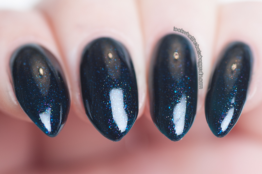 Arcane Lacquer Flower Bomb nail polish swatch
