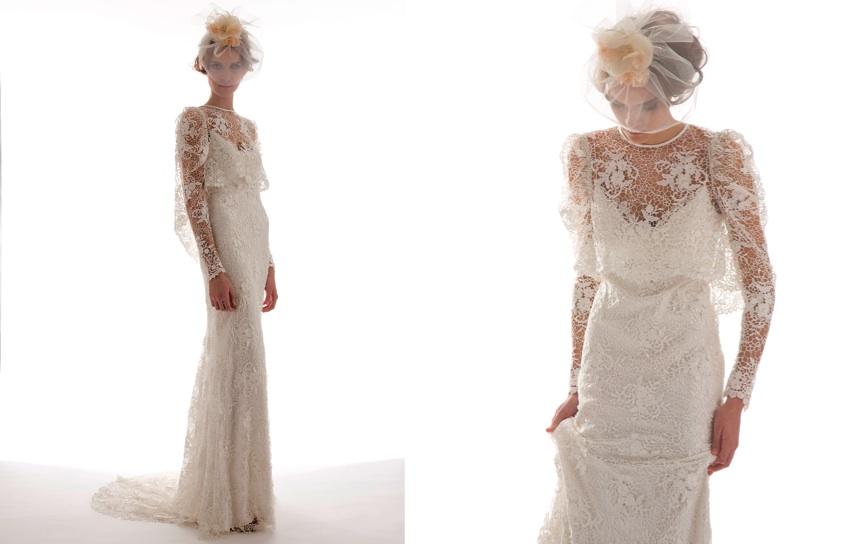 Sommer Brautkleider Online Blog: Romantische Spitze Brautkleider
