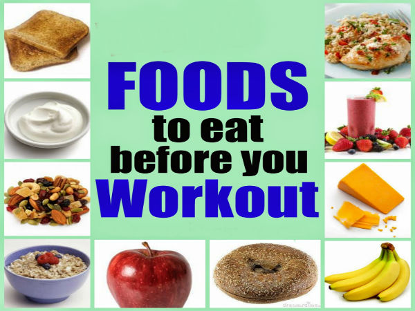 What to Eat Before a Workout