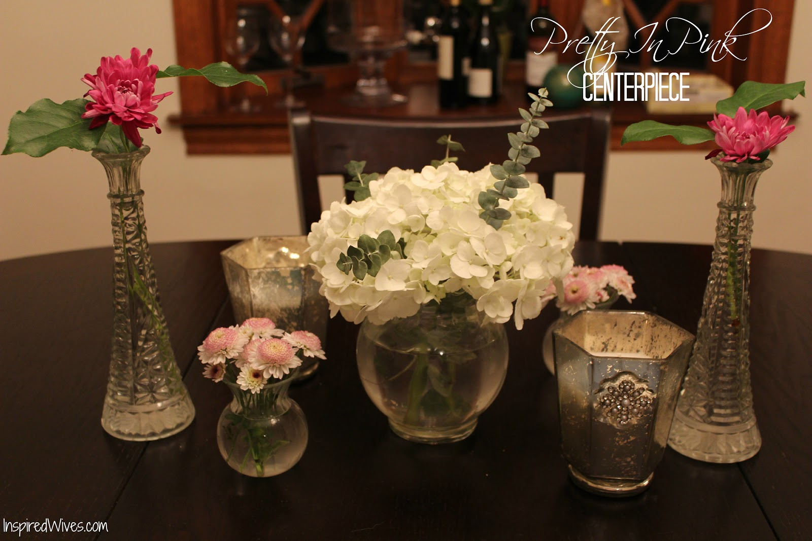 Inspired i dos dinner party centerpiece ideas
