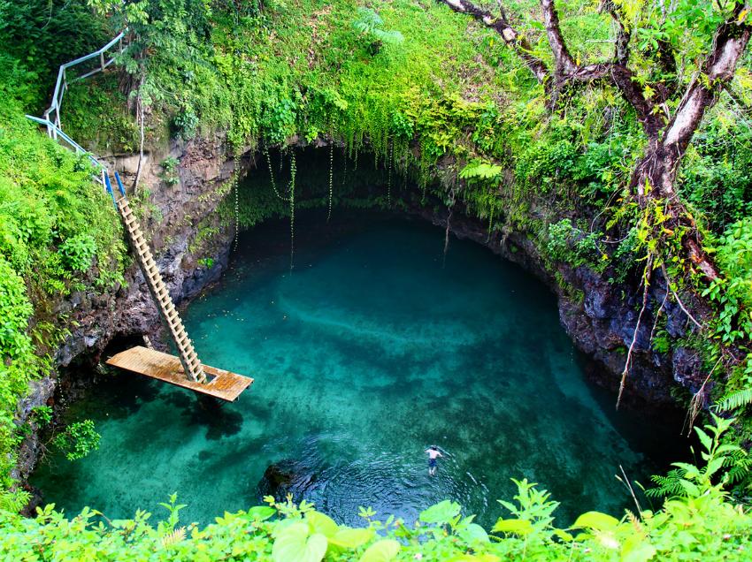 Fosa oceánica de To Sua (Samoa)