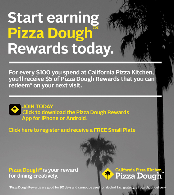 FREE IS MY LIFE: Sign-up for CPK Pizza Dough Rewards and get a FREE ...