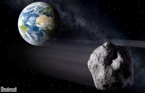 Asteroid Sebesar Tiga Kali Patung Liberty Lintasi Bumi 8 Juni