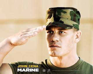 جون سينا: كنت قريبا من الإنضمام للجيش ...... والمزيد .... John_Cena_in_The_Marine
