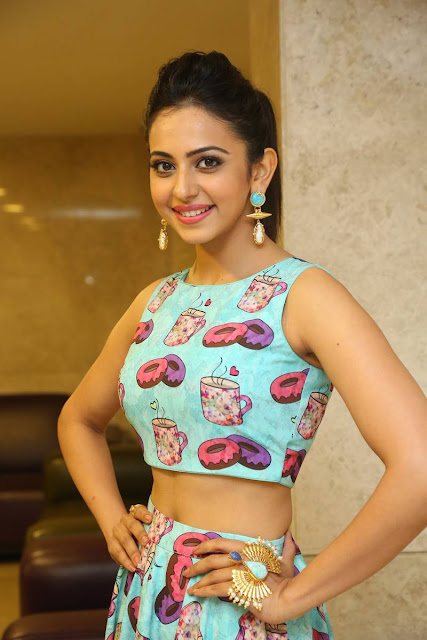 Rakul Preet Singh Stills At Pandaga Chesko Movie Platinum Disk Function