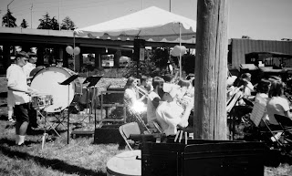 Judson Middle School Concert Band, Riverfront Park ground breaking ceremony, 1994
