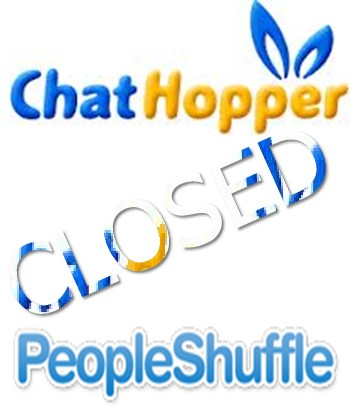 A new alternative for 2 chatroulette that are closed now: Shuffle People and Chat Hopper