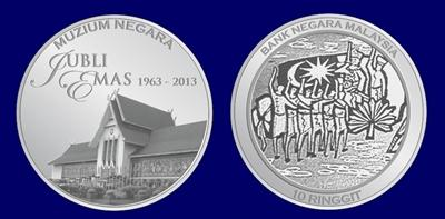 The silver commemorative coin,