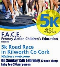5k in Kilworth nr Fermoy...15th Feb