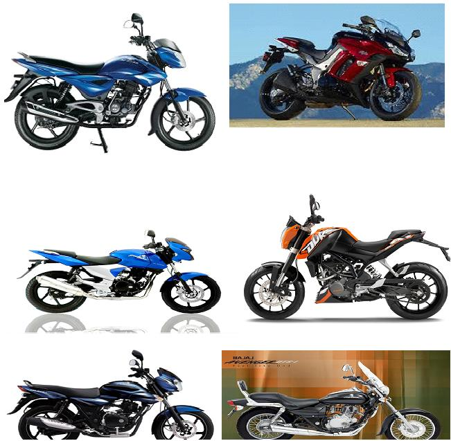New Bajaj bike Models