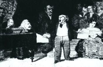 Richard Wagner und Franz Liszt - 1. Akt der Walküre
