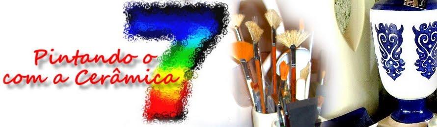 Pintando o 7 com a Cerâmica