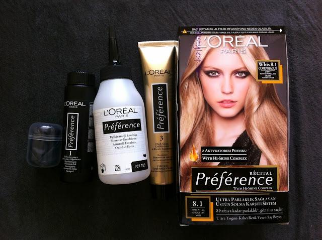 Loreal Preference 8.1 Saç boyası