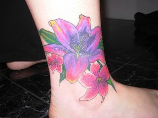 Ankle Tattoo Design Photo Gallery - Ankle Tattoo Ideas