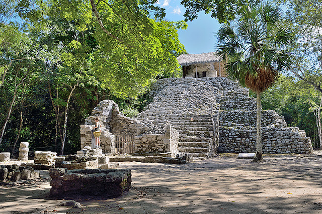 Une pyramide à Cobá