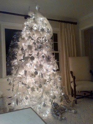 Sandra Lee White Christmas Tree