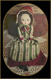 Cloth Queen Anne Doll