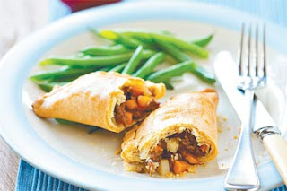 empanadas vegetarianas, vegetales, light, saludables, horneadas