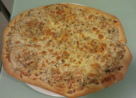 En la cocina con mycook pizza carbonara - Pizza mycook ...