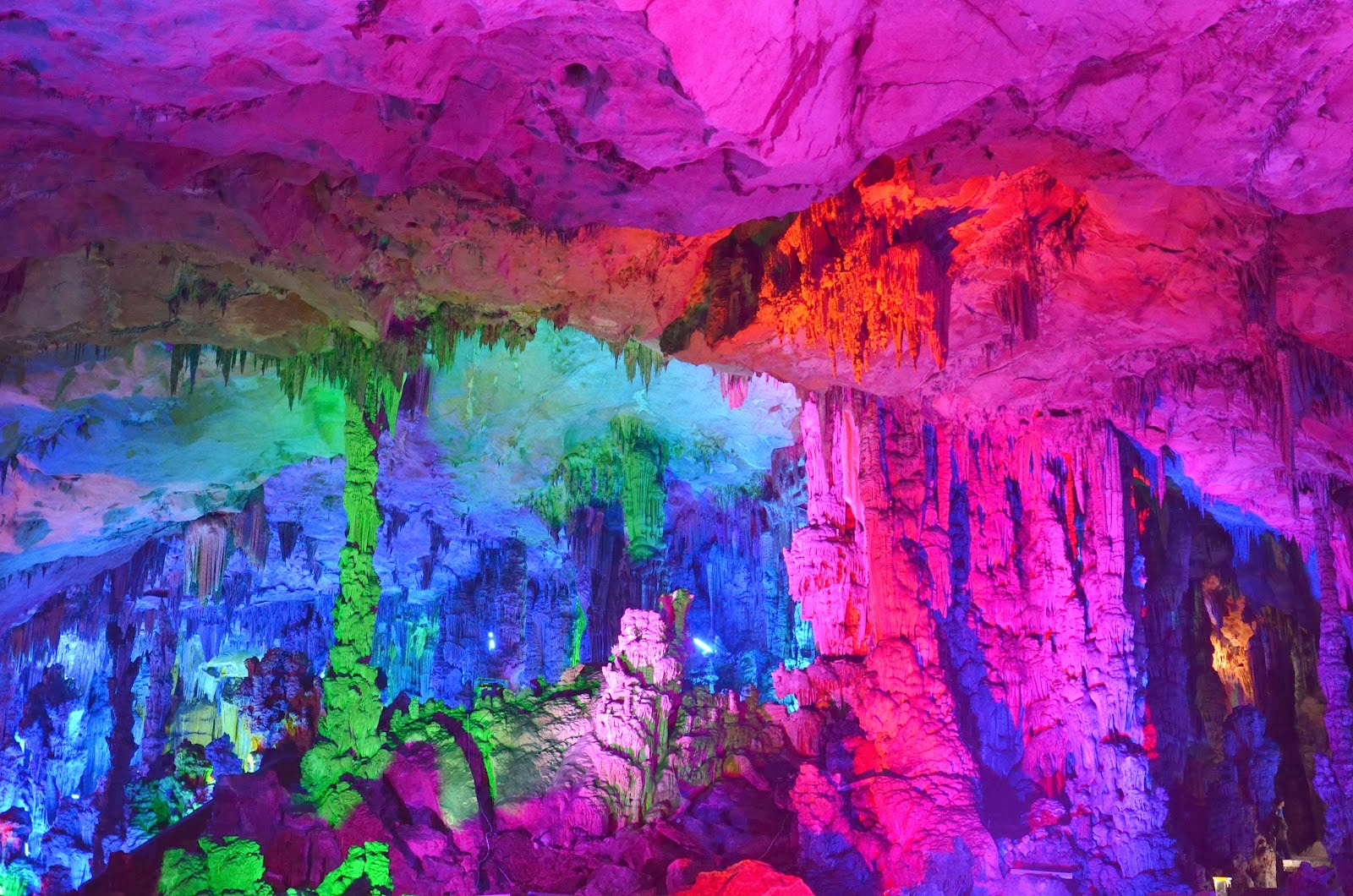 travel trip journey reed flute cave china