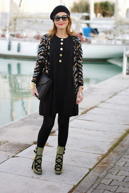 Roberto Botticelli ankle boots, Kangra cappello, Marc by Marc Jacobs Hobbes cardigan, Fashion and Cookies, fashion blogger