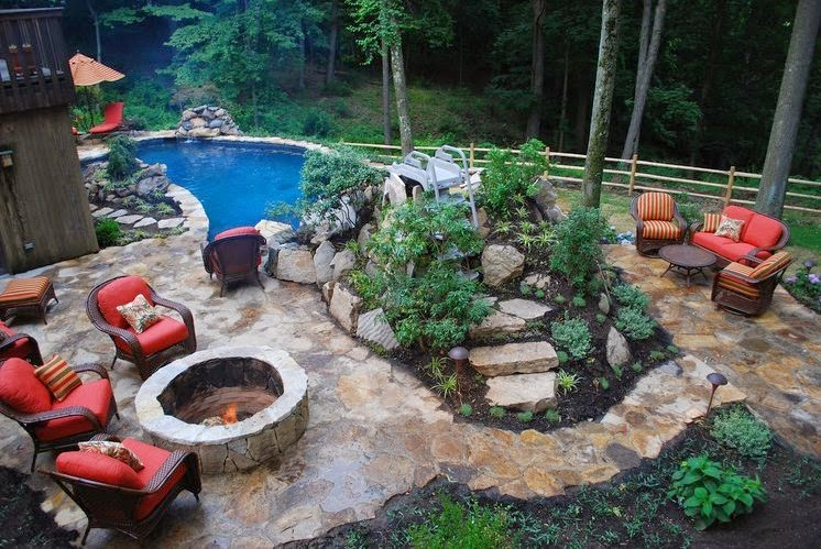 Backyard Pool Landscaping Ideas Florida