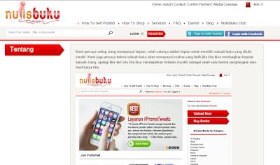 kisah sukses nulisbuku.com