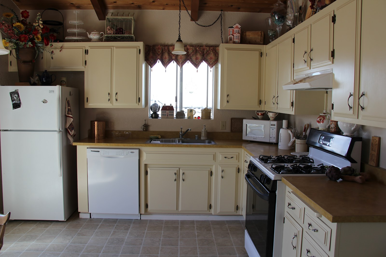 kitchen transformation i m finally done redoing my kitchen cabinets i