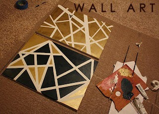 DIY, WALL, ART, PAINT