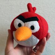 . plush angry bird .