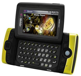 T-Mobile Sidekick LX 2009 phone has Trackball navigation