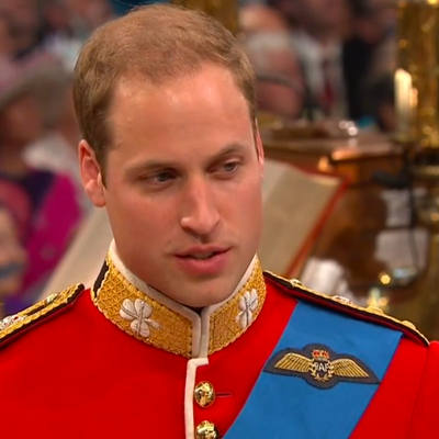 Prince William says I will. YouTube 2011.