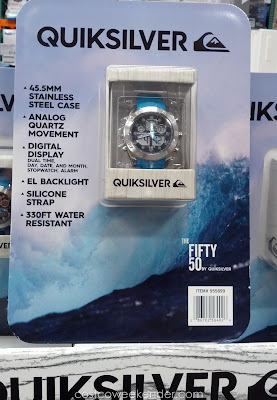 Accessorize with the Quiksilver The Fifty50 Men's Watch
