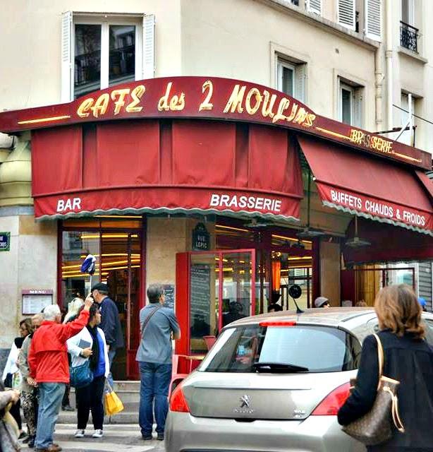 amelie cafe montmartre
