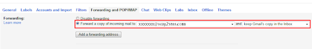 Forwarding-Gmail