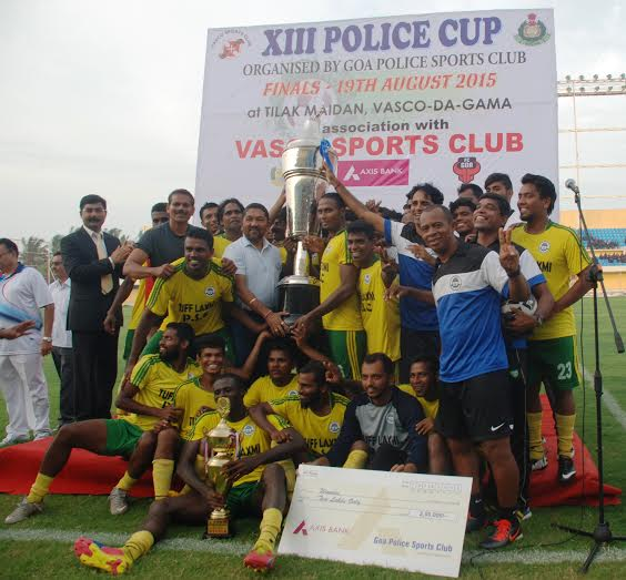 Tuff Laxmi Prasad SC beat Salgaocar Juniors(U-20) - 13th Goa Police Cup Finals